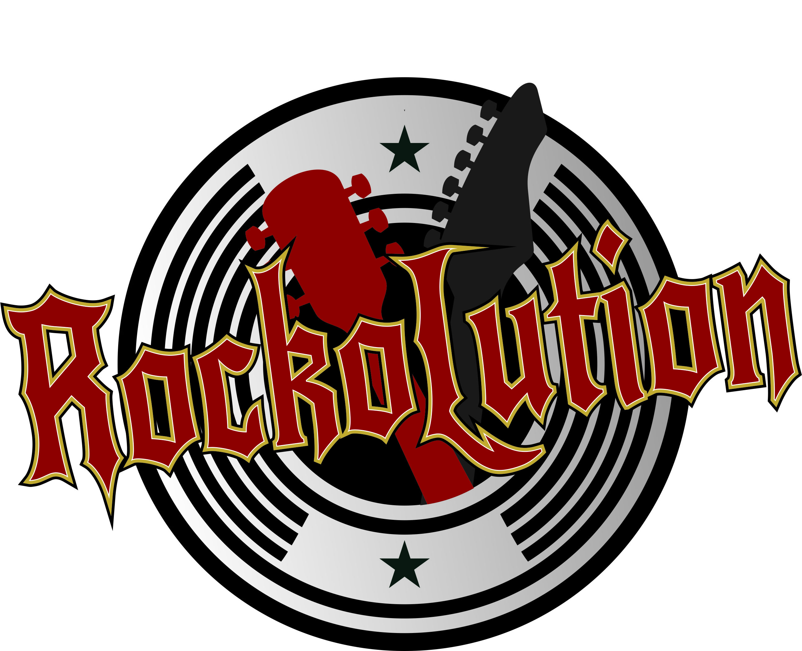 Rockolution logo transparent